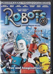Robots (DVD Widescreen 2005)  Ewan McGregor, Halle Berry, Robin Williams