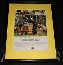 1964 Club Cadet Tractor 11x14 Framed ORIGINAL Vintage Advertisement