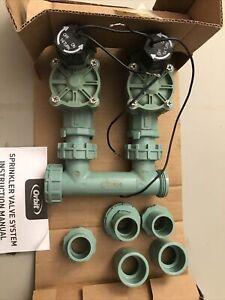 Orbit automatic sprinkler valve system 2 valve