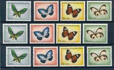 [314407] Netherlands New Guinea 1960 Butterflies 3x good set of stamps VF MNH