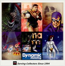 1995 Australia Dynamic Marketing Trading Cards Series promo 6-card mini sheet
