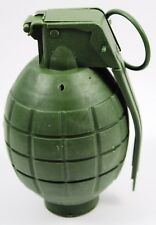 Green Combat Action Toy Fake Grenade With Sound Costume Accessory Prop Army