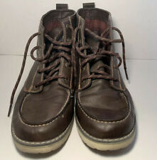 Boy's Brown High Top Boots Size 6
