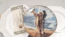 1992 Franklin Mint Prayer to the Great Spirit American Indian Heritage Plate
