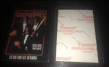 🏀1993 Chicago Times Michael Jordan Canadian Crack & Peel 4x6 PMG Rubies Promo💎