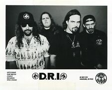 DIRTY ROTTEN IMBECILES D.R.I. 1992 PRESS KIT!!! Photo - Publicity Release