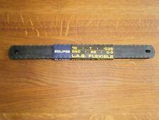 Eclipse low alloy steel double edge flexible hacksaw blades