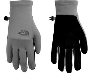 The North Face Women's Etip Recycled Gloves (Medium Grey Heather) Size Medium
