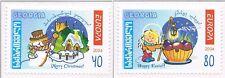 2004 Georgië 456a-457a Europa CEPT Vakantie - holidays