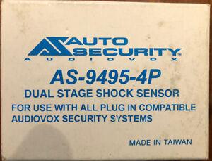 Prestige Audiovox security alarm shock sensor AS-9495-4P Dual Stage Sensor