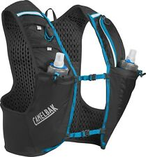 CamelBak Ultra Pro Vest 17oz Quick Stow Flask Black/Atomic Blue - Medium [DC'd]