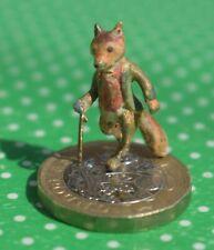 More details for cold painted bronze miniature mr fox beatrix potter figure (bergmann)