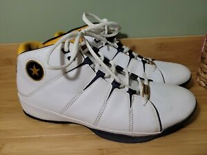 Vintage Converse ALL STAR Leather Uppers Men's Size 11.5  3/4 high Basketball