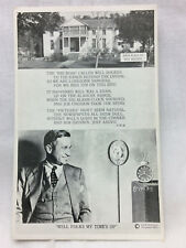 Vintage Postcard Wiil Rogers Birth Place Not Used