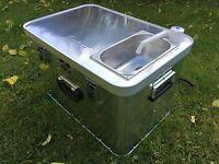 """Campingküche, Camping-Box """"Starter 4x4"""" mit Zubehör, NEU von """"campingmoebel.4x4"""""""