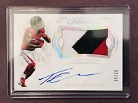 2018 Panini Flawless Tevin Coleman Atlanta Falcons 3-Color Patch AUTO 5/20