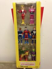 LEGION of SUPERHEROES CLUBHOUSE - DC DIRECT - 7 PC SET - Supergirl / Flash
