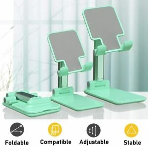 Adjustable Desk Stand Holder Cradle For iPhone Samsung Cell Phone Tablet