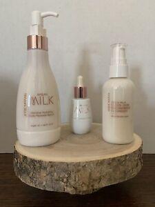 Josie Maran Milk Maid Intensive Hydration Face & Body Trio (Unscented)
