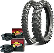 Tire Kit - Starcross 5 110/100-18 & 80/100-21 Medium Tires w/ Sedona Tubes