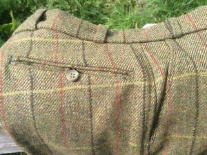 """All wool tweed breeches Made in the U.K. Gents 32"""" waist shooting fishing walkin"""