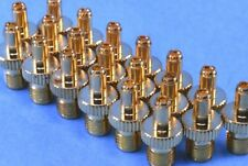20 High-End, Premium SMA Female to SMB Male Adapters w/ Snap-In Coupling