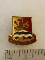 Authentic US Army 159th Transportation Battalion Unit DI DUI Crest Insignia NH