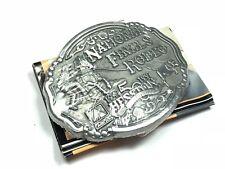 Vintage Men's - '1947-1997 National Finals Rodea Hesston' - Belt Buckle