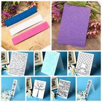 Gaufrage en plastique dossier pochoirs modèle Scrapbooking papier cartes décor.