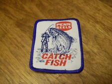 PENN REELS CATCH FISH FISHING LURE PATCH TROUT SALMON HUNTING