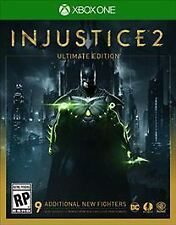 Injustice 2: Ultimate Edition (Microsoft Xbox One, 2017)