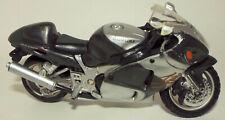 Maisto Die Cast Suzuki Motorcycle in Black & Gray