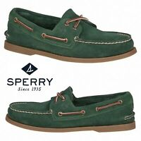 Sperry Top-Sider Authentic Original Men's Boat Shoes Comfort Suede Walking NIB