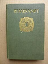 Auguste Bréal - Rembrandt, a critical essay  /  EO 1902