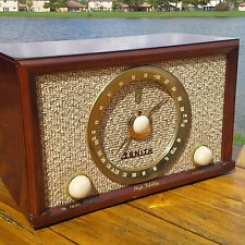 A Working 1956 Zenith Model B835R AM/FM Radio With iPod Adapter - See The Video!