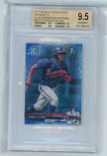 2017 BOWMAN CHROME MINI PROSPECTS 1ST синяя мерцание RONALD ACUNA #BCP127 BGS 9.5