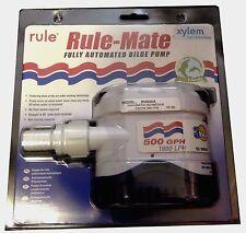 Rule 500gph automatic 12v Bilge pump. Canal boat, yacht, cruiser