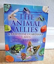 The ANIMAL ALLIES GEMSTONE GUARDIAN CARDS TAROT ORACLE GUIDE by LEMBO CAT Rescue