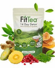 Fit Tea 14 Day Detox Herbal Weight Loss Tea Natural Weight Control Body Cleanse