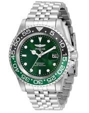 Invicta Pro Diver Men's 40mm Green Dial 200M Stainless Quartz Watch 34105 Rare