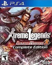 BRAND NEW Dynasty Warriors 8: Xtreme Legends Complete Edition PlayStation 4