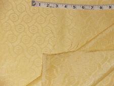 "Vintage drapery decorators fiberglass brocade/damask-like fabric 239""x45"""