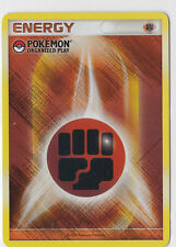Fighting Energy Reverse Promo - Pokemon Organized Play- Carte Pokemon VO Neuve