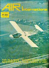 AIR INTERNATIONAL British aviation magazine February 1977
