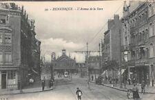 Dunkerque - l' avenue de la gare