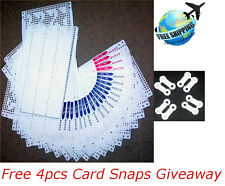 Pre Punch Card Pattern Set For Brother Singer Knitting Machine KH860 KH868 SK280