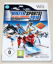 WINTER SPORTS 2010 - THE GREAT TOURNAMENT - NINTENDO WII - RTL WINTERSPORTS