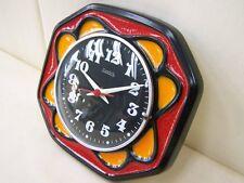 Belle antique Horloge de cuisine Hettich Électrique Culte Rétro Design
