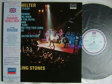THE ROLLING STONES GIMME SHELTER / JAPAN WITH OBI