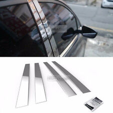 Stainless Steel Chrome Window Pillar Molding 4Pcs For CHEVROLET 2005-2007 Optra